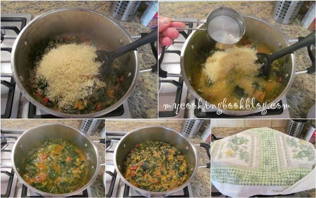 Спанакоризо или спанак с ориз