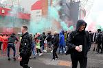 Gelekte beelden: Manchester United-supporters aangevallen in Poolse stad