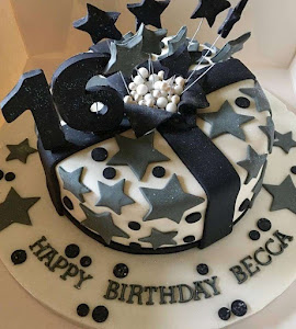 16th star birthday cake