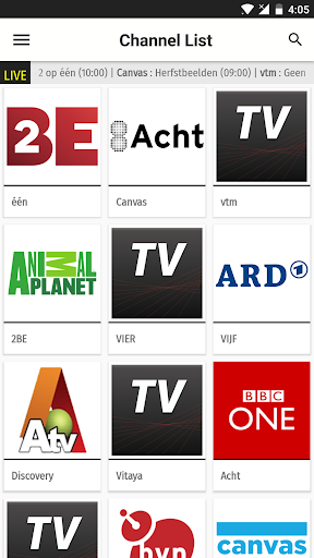 Belgium TV EPG Free 2.5 screenshots 3
