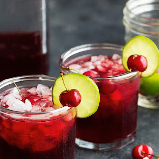 Pucker-Your- Lips Cherry Limeade