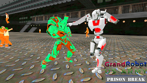 Grand Robot US Army Prison Break : Fighting Robots image | 2