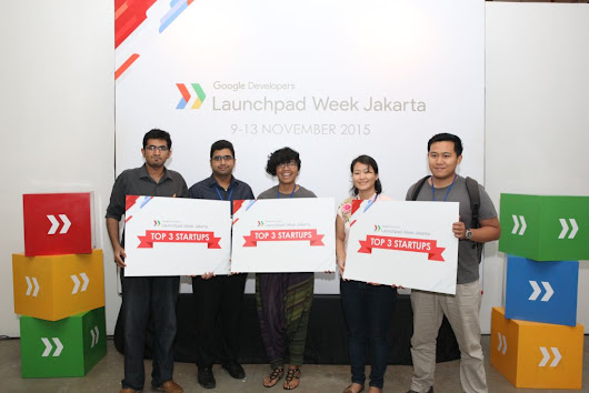 A pitch-perfect end to Google's first Launchpad Week in Jakarta