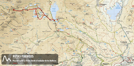 Photo: Itinerario de la ruta