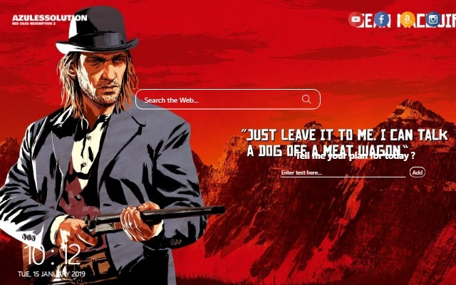 Rdr2 Wallpaper New Tab Theme