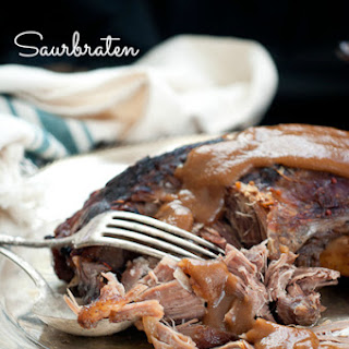 Alton Brown's Saurbraten