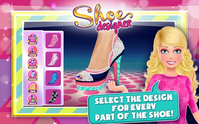 Shoe Maker-High Heels Designer - screenshot