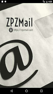 ZPZMail – A free, temporary and fake email address App Latest Version  Download For Android 1