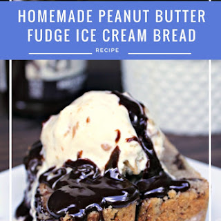 Homemade Peanut Butter Fudge Ice Cream