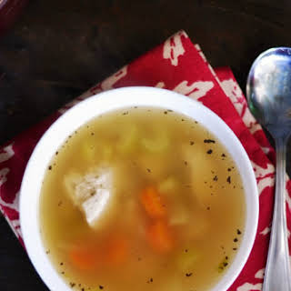 Easy Chicken Soup with a Twist.