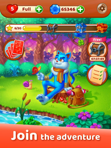 Cat Heroes: Puzzle Adventure 44.3.2 screenshots 17