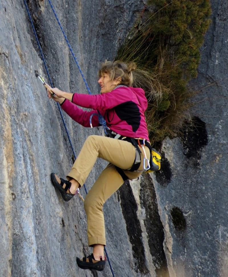 L'arrampicata di Giorgio Lucca
