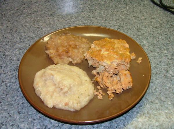 Apple Meatloaf Recipe