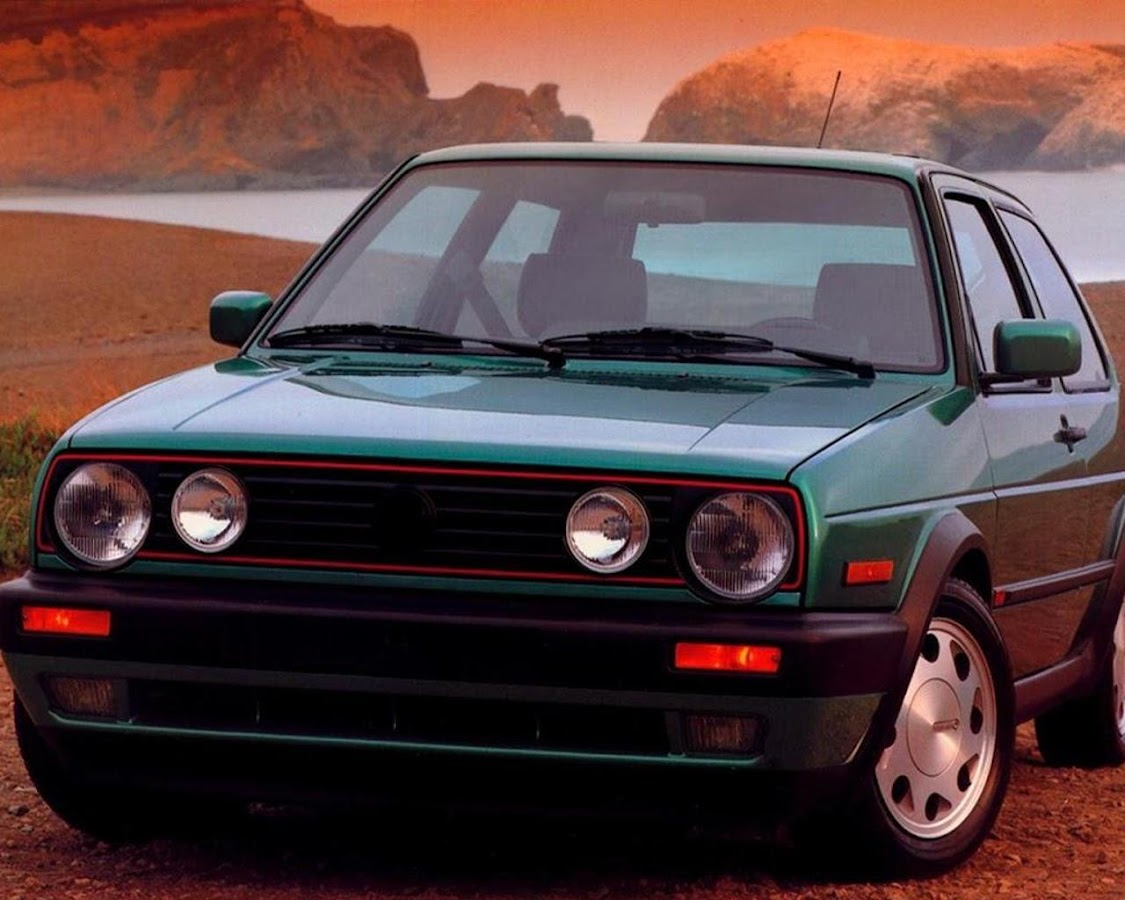 Wallpapers Volkswagen Golf GT Screenshot