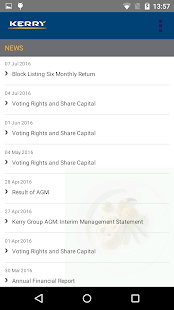 Kerry Group Investor Relations- screenshot thumbnail