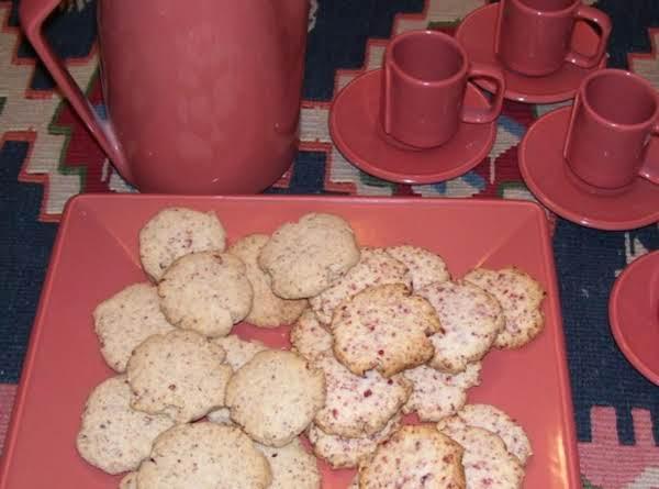 Food Processor Shortbread Cookies Recipe