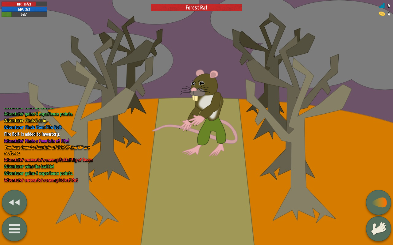 Level Up! RPG- screenshot