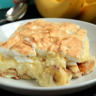 Homemade Southern Banana Pudding.
