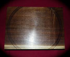 Photo: black walnut tray