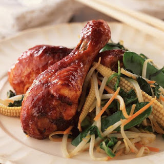 Sticky Chinese Drumsticks.