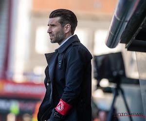 """Luka Elsner et Courtrai en tête après la victoire à l'Antwerp : """"Heureux de la mentalité affichée"""""""