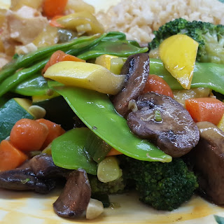 Vegetable Stir Fry.