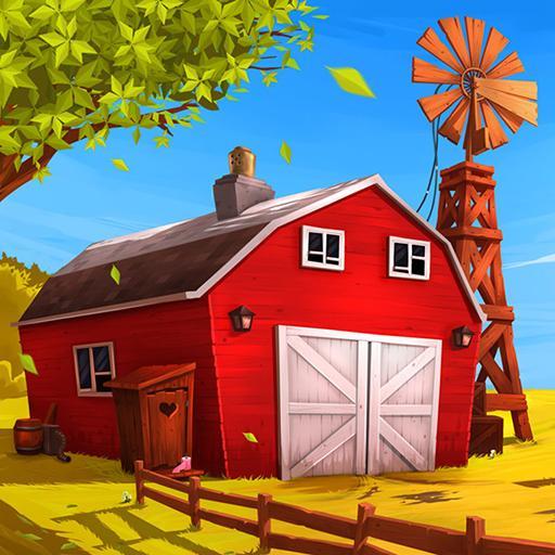 Farm games offline: Village farming games Icon