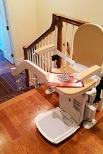 Photo: Curved Stairlift | Alpine, NJ