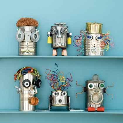 DIY Recycled Craft Photos