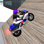 Motorbike Driving 3D City