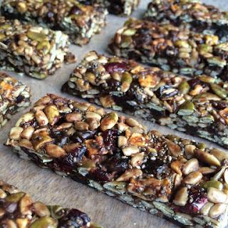 Seed & Fruit No-Bake Energy Bars (5 Ingredients)