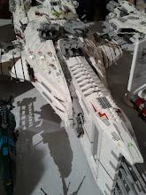 Photo: Spaceship detail.