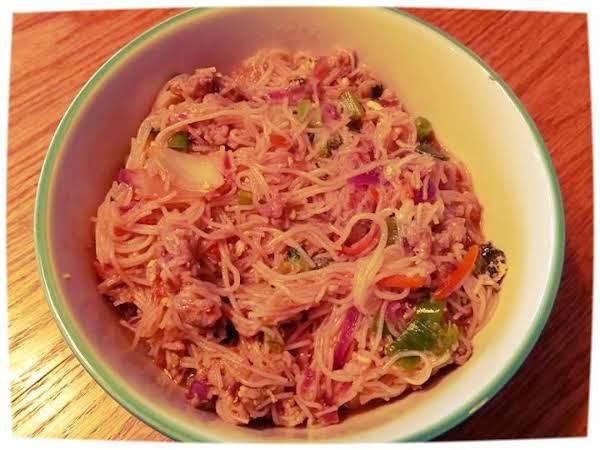 Potsticker  Noodle Bowl