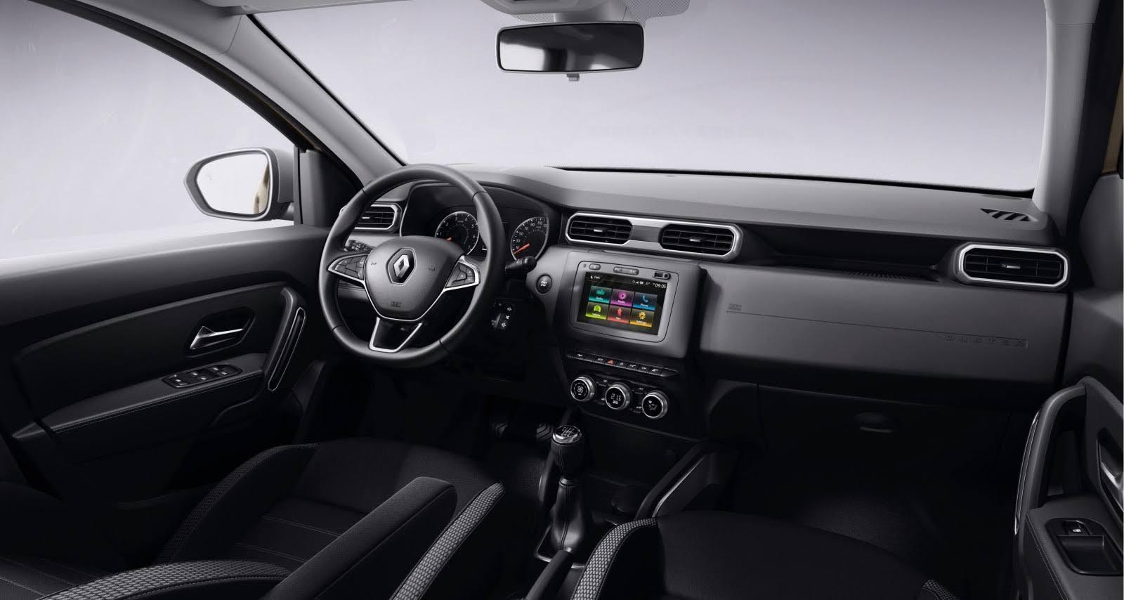 Интерьер кроссовера Renault Duster
