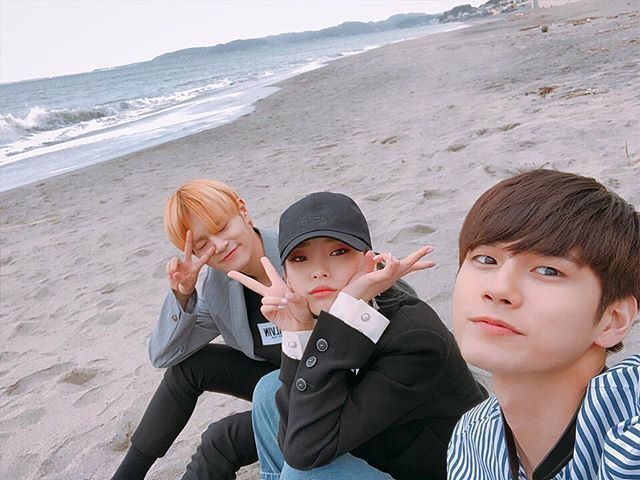 Daehwi, Heize, Ong Seongwu