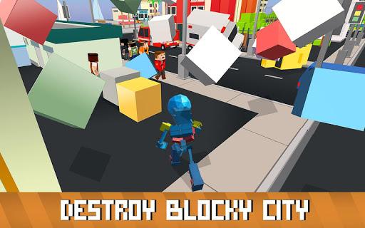 Blocky Robot Smash 1.0 screenshots 2