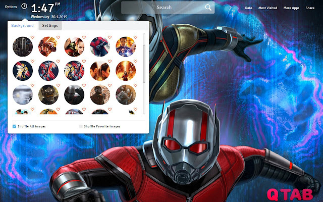 Ant Man And The Wasp Wallpapers New Tab