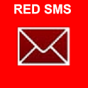 Red SMS icon