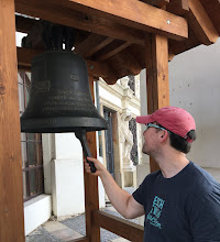 Photo: I saw a bell and simply had to ring it
