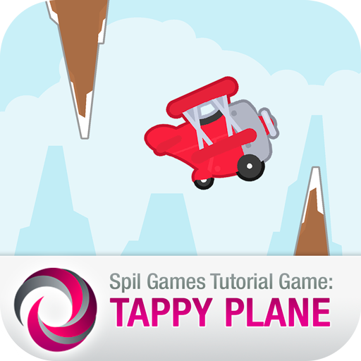 Tappy Plane: Spilgames Example (game)
