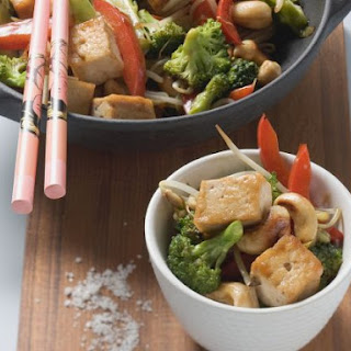 Broccoli and Tofu Stir-Fry