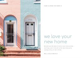 We Love Your New Home - Photo Card item