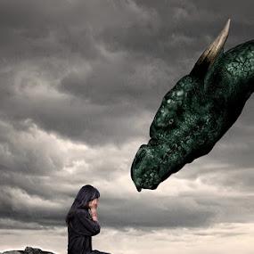 Very Afraid by Imam Syafi'i - Digital Art Things