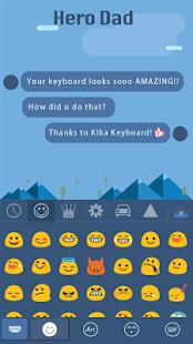 Hero-Dad-for-kika-keyboard 1