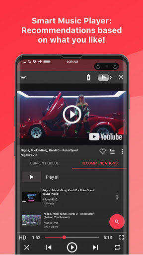 Free music player for YouTube: Stream 2.16.00 Screenshots 4