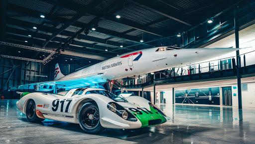 Fifty years young: when Porsche met Concorde