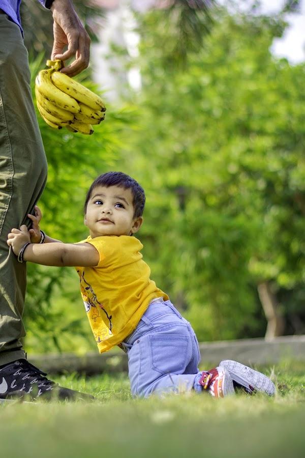 Atikya by Himanshu Jethva - Babies & Children Children Candids ( love, sweet, girl, atikya, candid, cute )