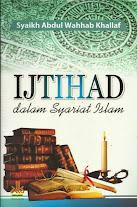Ijtihad dalam Syariat Islam | RBI
