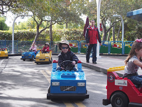 Photo: This is the driving track for the 3 to 5 year olds.