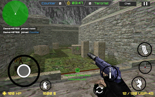 Counter Shooter Online CS - náhled